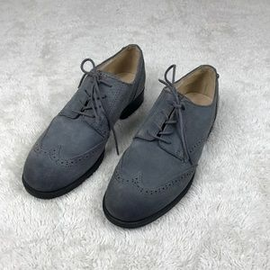 Sam Edelman Irving Gray Oxford Wing tip Shoes
